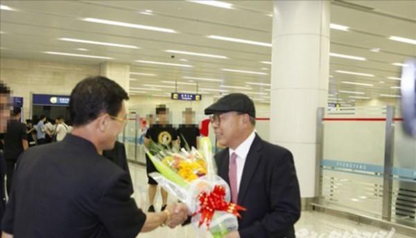 류미영 전 북한 천도교청우당 중앙위원장의 차남 최인국 씨가 북한에 영구거주하기 위해 지난 6일 평양에 도착했다고 북한 대남 선전매체